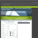 Flash menu builder - create your dynamic flash buttons online