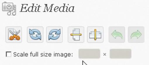 メディア 画像編集機能