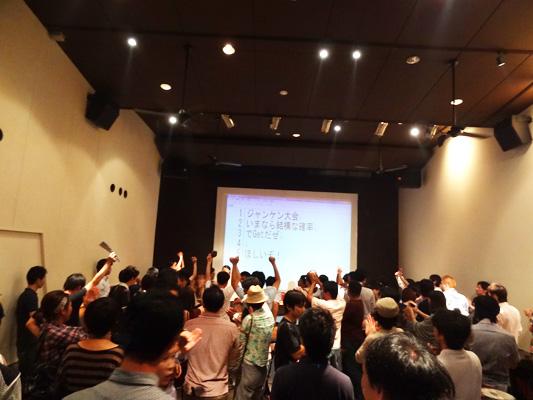 WordCamo kobe 2011 懇親会