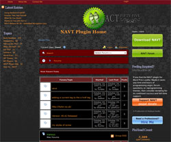 NAVT Plugin Home | Act Fifty-Five