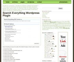 Search Everything WordPress Plugin