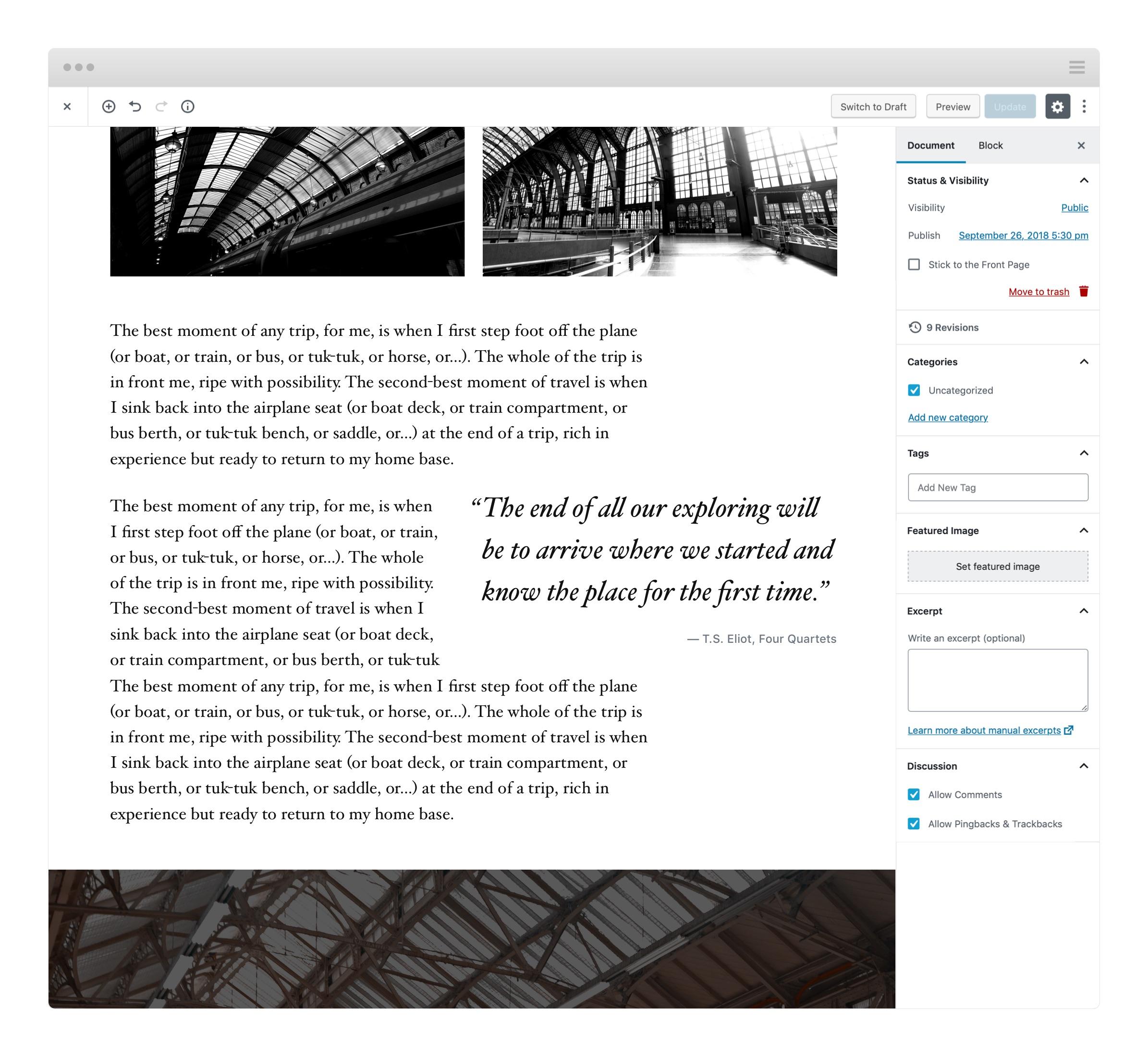 Gutenberg エディタースタイル